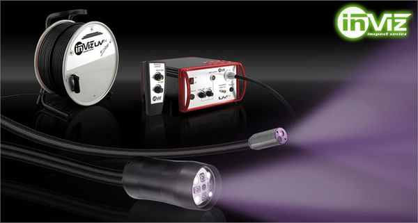 INVIZ UVin - A real dual band videoscope with Ultra Violet and Visual